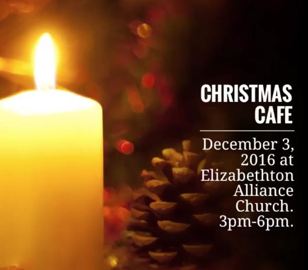 Christmas Cafe Elizabethton, TN